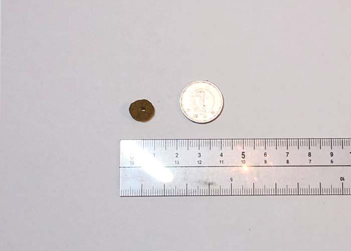 1円玉との比較